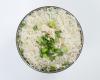 ارز مقلي بالدجاج ( ابيض )